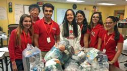 Doral Academy math students create kits for young cancer patients