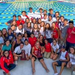 Congratulations once again to Coach Cathy Silveira and our Firebird swim team on another great season!