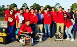 High School Robotics Honor Society attended the Vex States Competition at the Tampa State Fairgrounds.