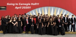 Doral Academy Orchestra has been selected to perform on the truly historic stage of Carnegie Hall in New York City!
