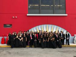 Doral Academy Orchestra has once again achieved another SUPERIOR rating at the 2019 Florida Orchestra Association District 16 Music Performance Assessments!! This qualifies them to go to State MPAs later in April!