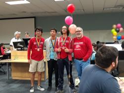 Doral Academy was represented by 4 programming teams at the FIU High School Programming Contest held on Saturday April 6th, 2019, and was victorious over all other Miami-Dade County Teams, such as Gulliver and Ransom Everglades.