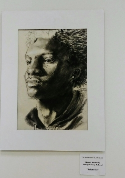 Marianne Simon art piece selected to be exhibited at one of the Congressional offices for one year.