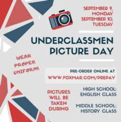 PICTURE DAY - FOR ALL 6TH - 11TH GRADERS