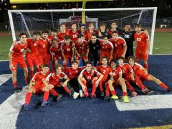Doral Boys Soccer Players defeats Miami Beach and captures a District Title!